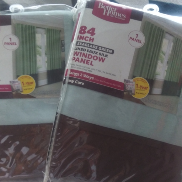 """Better Homes And Gardens Other - Better Homes & Gardens 84"""" Window Panels"""